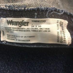 Wrangler Jeans - WRANGLER Mens 38 x 36 PREMIUM 13MWZDD Cowboy Jeans